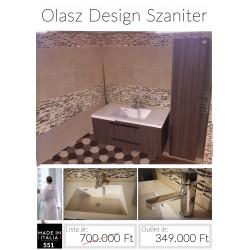 Venga fürdőszobabútor kerámia mosdóval