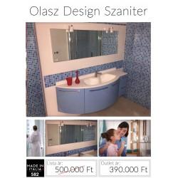 Ívelt fürdőszobabútor
