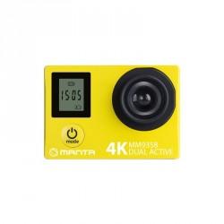 MANTA MM9358 Dual Active két kijelzős 4K, Wi-fi akció kamera