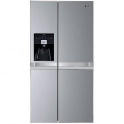 LG GWL3113PS Side by Side hűtőszekrény, Total No Frost, Víz adagoló / jégkockák / zúzott jég