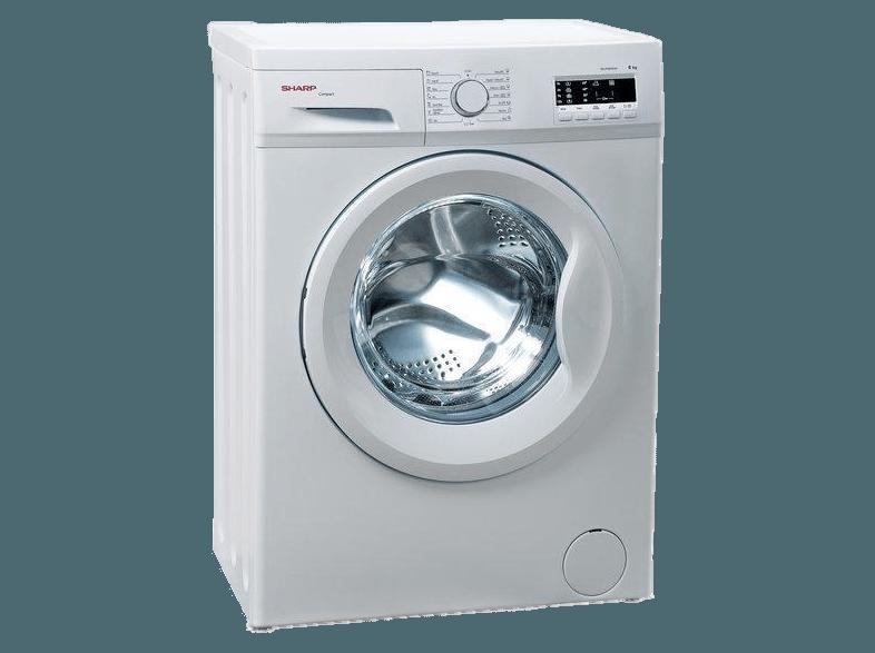 SHARP-ESFA5101W1-EE-elöltöltős-mosóg