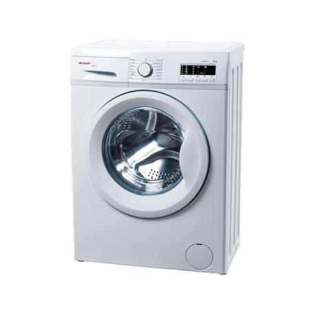 SHARP ES-FA6102W2-EE elöltöltős mosógép, 6kg kapacitás, A++ energiaosztály