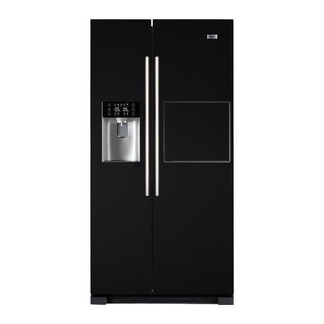 HAIER HRF-628AN6 Side by side hűtőszekrény, A+ energiaosztály, NoFrost (jegesedésmentes)
