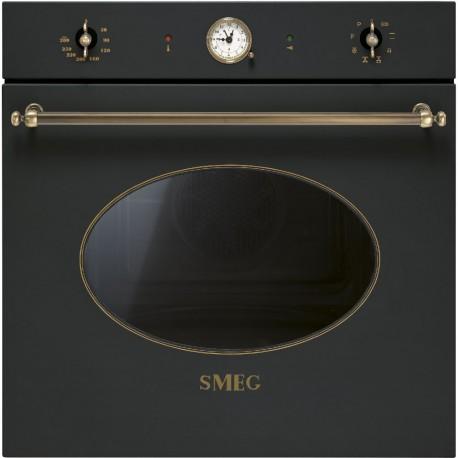 SMEG SFP805AO Pirolitikus hőlégkeveréses beépíthető sütő, 70 literes űrtartalommal