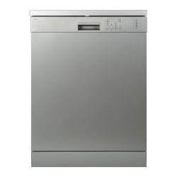 CURRYS ESSENTIALS CDW60S18 12 terítékes ezüst mosogatógép, A++ energiaosztály