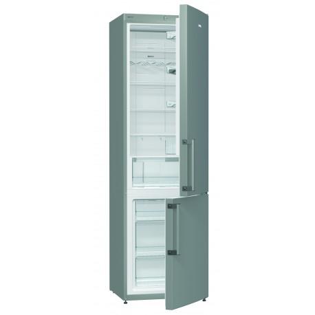 GORENJE NRK6202CX Kombinált hűtő, Kapacitás: 229/95 Liter, A++ Energiaosztály, FrostLess