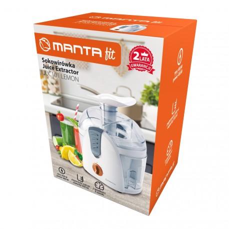 MANTA JUC101 gyümölc centrifuga, 400 W, Fefér