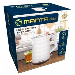 MANTA KTL9230W ORISA 1,7 litteres vízforraló 360° forgatható talpal