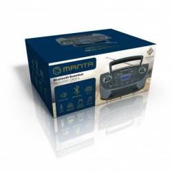 MANTA MM9208BT Drop II Bluetooth rádió, és MP3 lejátszó fekete - Premium
