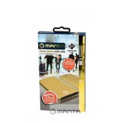 MANTA MPB910B Powerbank 10000 mAh fekete - Premium