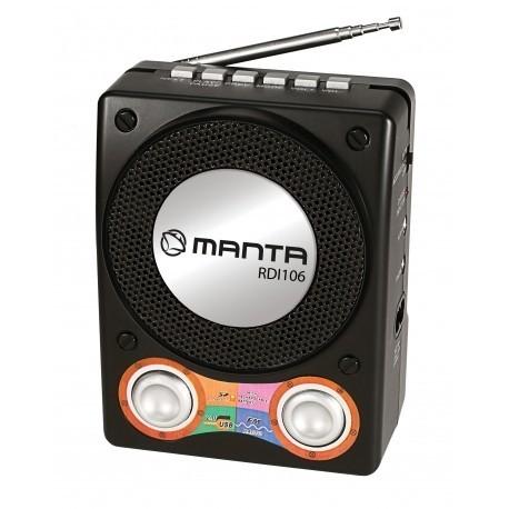 MANTA RDI106 Joy digitális zsebrádió