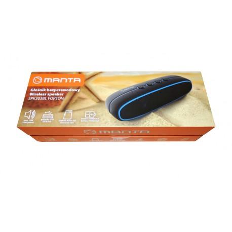 MANTA SPK303BL Fortan bluetooth hangszóró fekete - kék