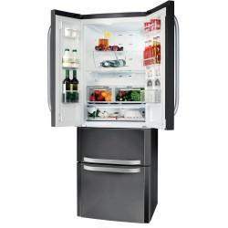 BAUKNECHT KSN 19 A2+ SW Kombinált alulfagyasztós hűtőszekrény, No Frost