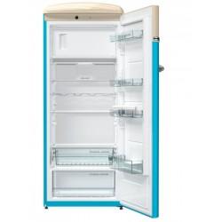 GORENJE OBRB153BL Egyajtós hűtő retro hűtőszekrény, VW logo