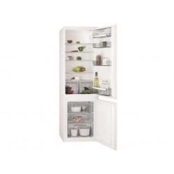 AEG SCB51821LS Beépíthető kombi hűtő, No frost, Less frost, 196/72 liter, A++ energiaosztály