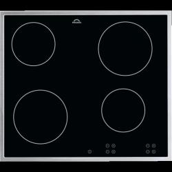 PROGRESS PAS6000E Beépíthető kerámia főzőlap, 4 főzőzóna, érintésvezérlés