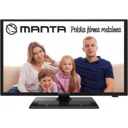 """MANTA 24LFN37L LED TV, 1920×1080 felbontás, képernyőméret 24""""/61 cm"""