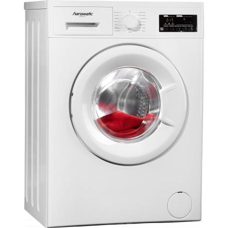 HANSEATIC HWM612A2 Elöltöltős mosógép, 6 kg kapacitás, 1200 rpm centrifuga, A++