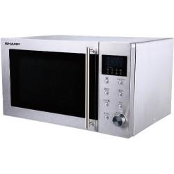 SHARP R28ST Mikrohullámú sütő, 23 liter, 800 Watt, Automatikus főzés opció