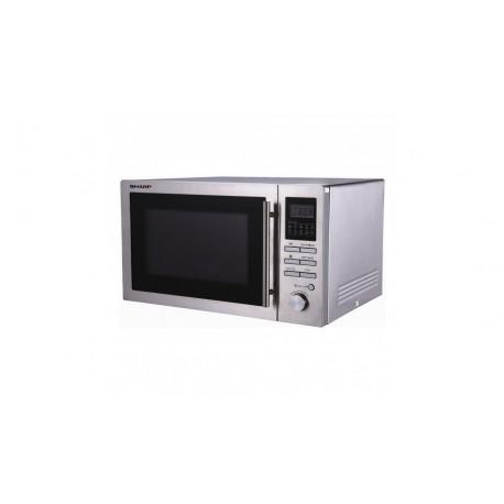 SHARP R82ST Grilles mikrohullámú sütő, 25 liter, 900 Watt, Grill funkció