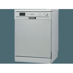 SHARP QW-GX13F472I-DE Szabadonálló mosogatógép, 13 teríték, A++ energiaosztály, 4 program