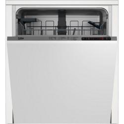 BEKO DIN25420 Beépíthető mosogatógép, 14 teríték, A++ energiaosztály, 5 program
