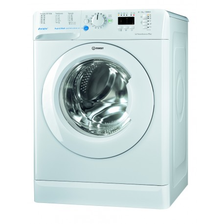 INDESIT BWSA51052W Keskeny elöltöltős mosógép, 5 kg kapacitás, 1000 rpm centrifuga, A++