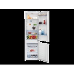 BEKO BCSA283E2S Beépíthető kombi hűtő