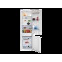 BEKO BCSA283E2S Beépíthető kombi hűtő, 5 év Gyári garancia!