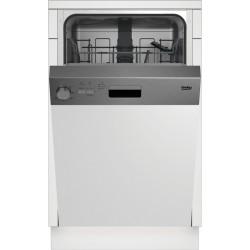 BEKO DSS 05011 X Keskeny beépíthető mosogatógép