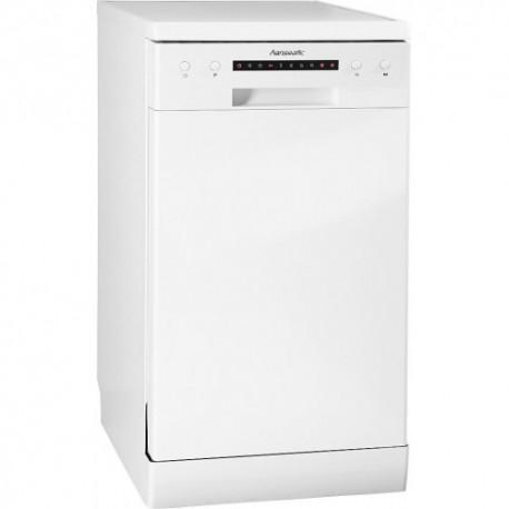 HANSEATIC WQP8-7206D WH Keskeny szabadonálló mosogatógép