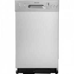 HANSEATIC WQP87736 Keskeny beépíthető mosogatógép