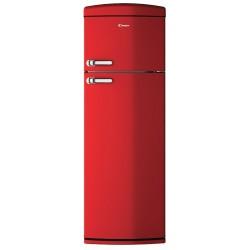 CANDY CVRDS 6174RH Retro kombinált hűtőszekrény, gyári garanciával