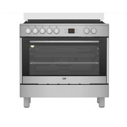 BEKO GM15321DX Kombinált Range Cookers tűzhely, Kapacitás: 104 liter, 5 év Gyári garancia!