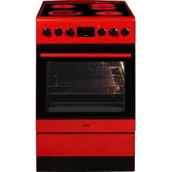 AMICA SHC 11504/1R Piros kerámialapos villanytűzhely
