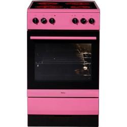 AMICA SHC 11507 PI Pink kerámialapos villanytűzhely