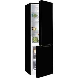 HANSEATIC HKGK18560A2B Feket kombi hűtő
