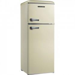 SCHNEIDER DT215SC RETRO Felülfagyasztós kombi hűtő