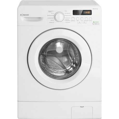 BOMANN WA 5722 Elöltöltős mosógép