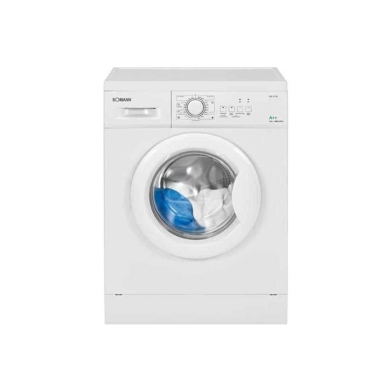 BOMANN Elöltöltős mosógép, A+++, 8 kg, WA 7180