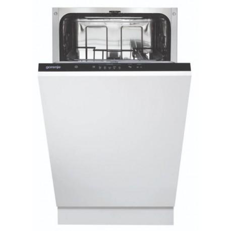 GORENJE GV52010 Keskeny beépíthető mosogatógép