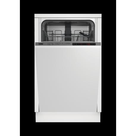 BEKO DIS26011 beépíthető keskeny mosogatógép