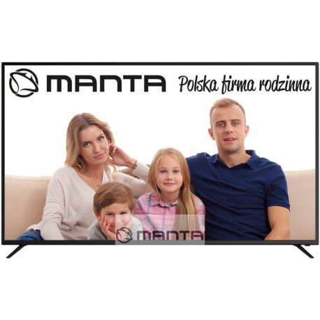 MANTA 65LUA79M SMART UHD LED TV, gyári garancia