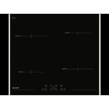 SHARP KH-6I19FT00-EU Beépíthető indukciós főzőlap
