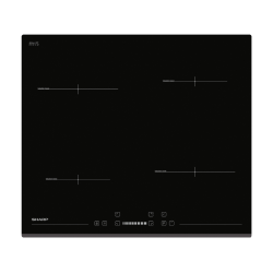SHARP KH-6I19BS00-EU Beépíthető indukciós főzőlap