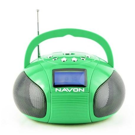 NAVON NPB100W Hordozható rádió, MP3 lejátszó