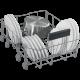 BEKO DIS 26021 Beépíthető keskeny mosogatógép