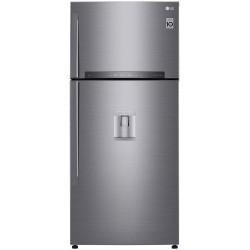 LG GTF744PZPZD Felülfagyasztós, italadagolós kombi hűtő