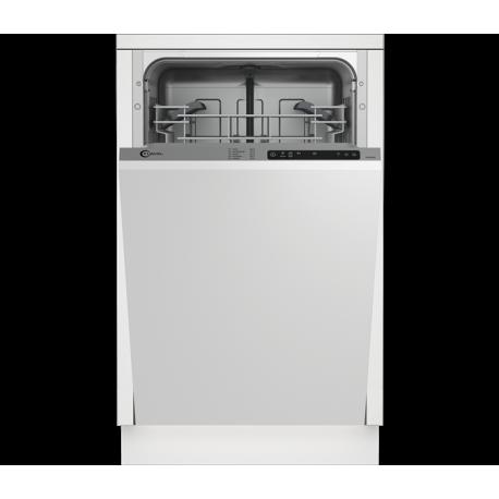 FLAVEL FDW452 Keskeny beépíthető mosogatógép