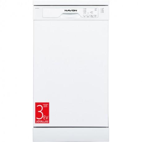 NAVON DSW 4500 W Keskeny szabadonálló mosogatógép